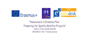 newcomers in erasmus plus