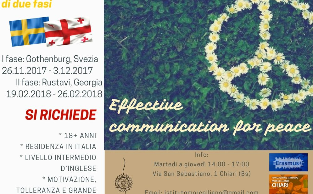 Effective communication for peace II
